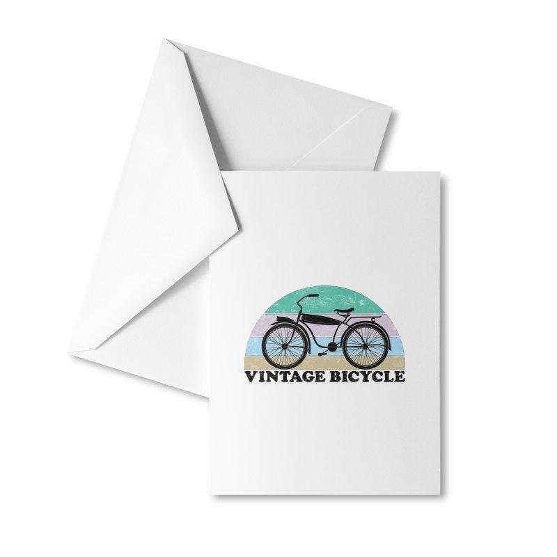 Vintage Bicycle Vintage Colors Accessories Greeting Card by The Wandering Fools Artist Shop