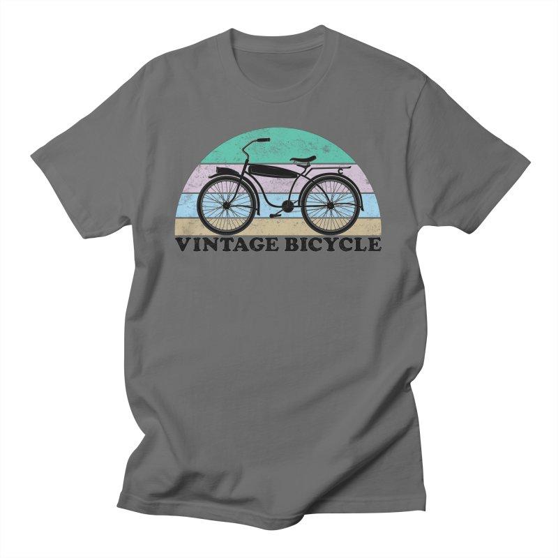Vintage Bicycle Vintage Colors Men's T-Shirt by The Wandering Fools Artist Shop