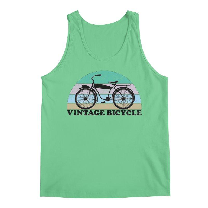 Vintage Bicycle Vintage Colors Men's Tank by The Wandering Fools Artist Shop