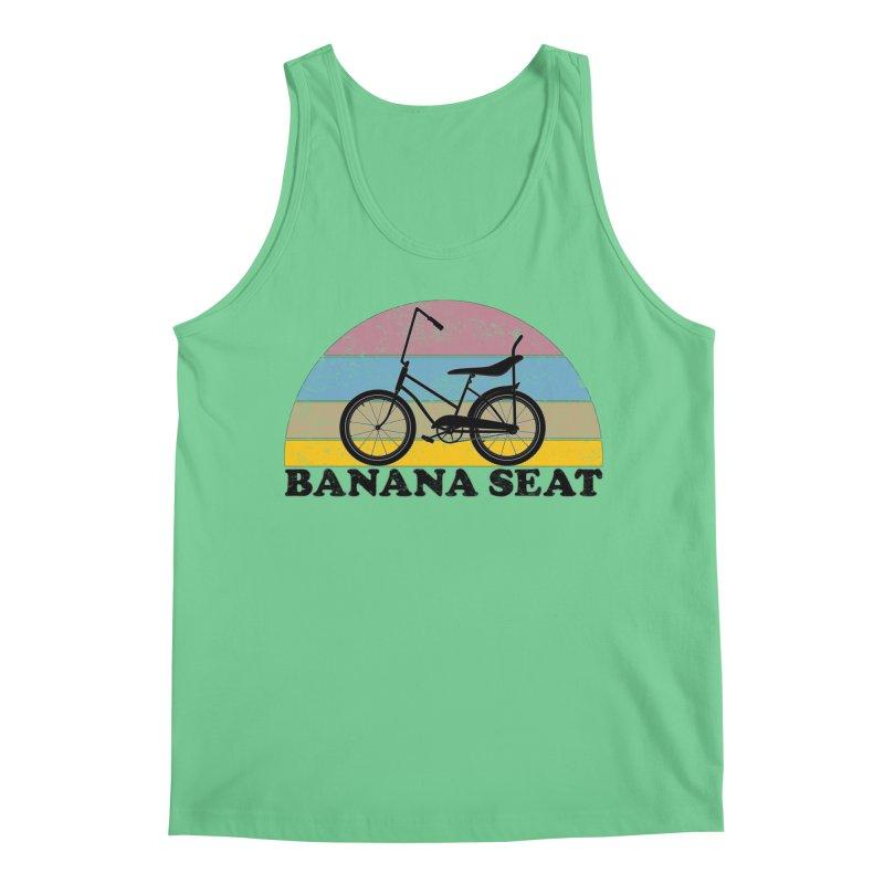 Banana Seat Bike Vintage Colors Men's Tank by The Wandering Fools Artist Shop