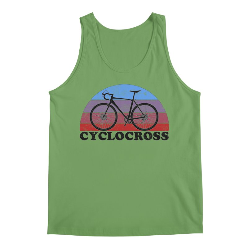 Cyclocross Bicycle Vintage Colors Men's Tank by The Wandering Fools Artist Shop
