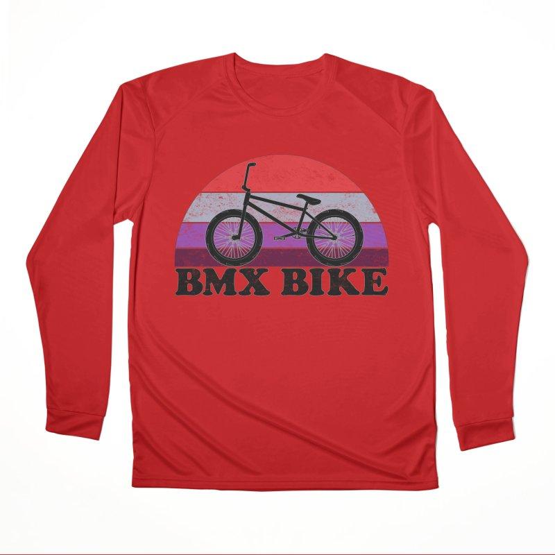 BMX Bike Vintage Colors Men's Longsleeve T-Shirt by The Wandering Fools Artist Shop