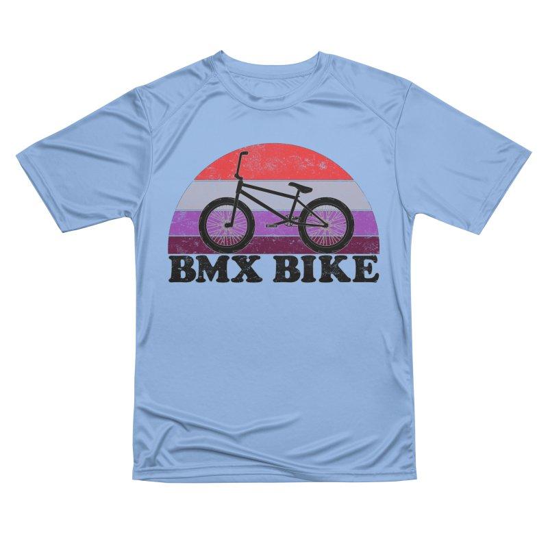 BMX Bike Vintage Colors Men's T-Shirt by The Wandering Fools Artist Shop