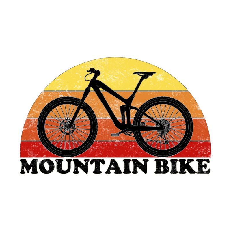 Mountain Bike Vintage Colors Women's T-Shirt by The Wandering Fools Artist Shop