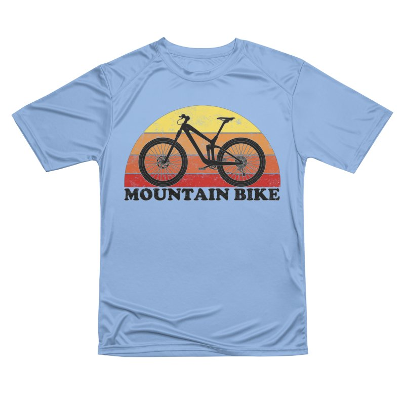 Mountain Bike Vintage Colors Women's T-Shirt by The Wandering Fools Artist Shop