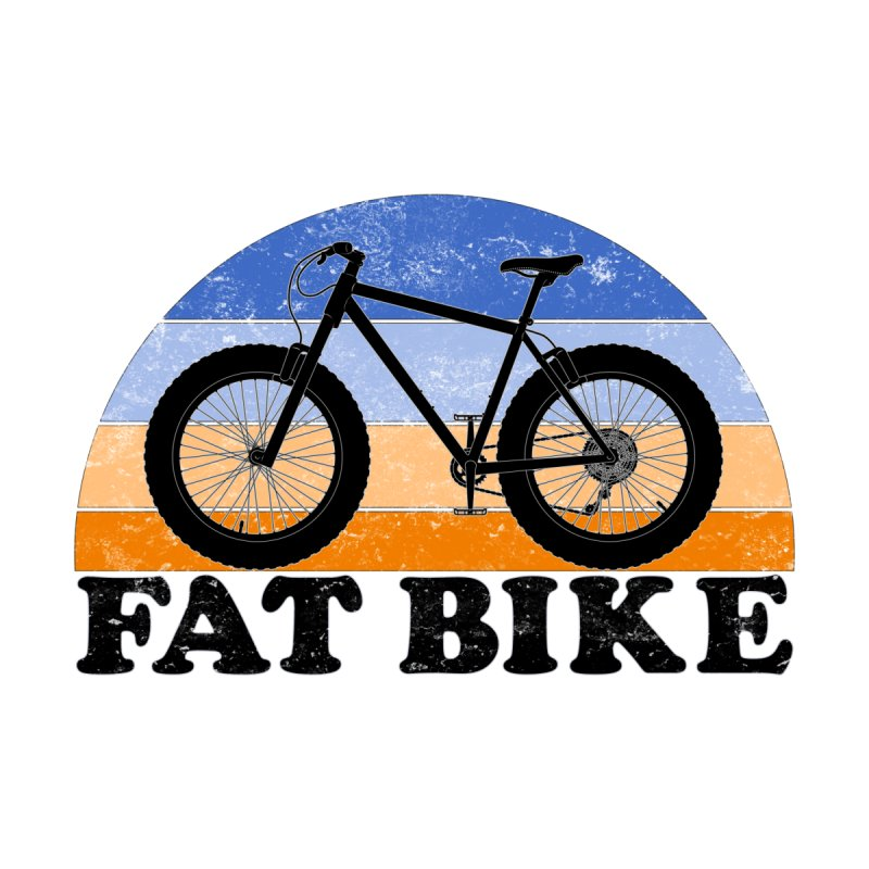 Fat Tire Bike Vintage Colors Men's Tank by The Wandering Fools Artist Shop