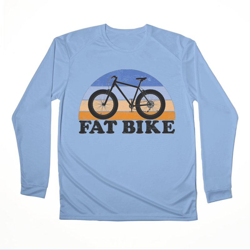 Fat Tire Bike Vintage Colors Women's Longsleeve T-Shirt by The Wandering Fools Artist Shop