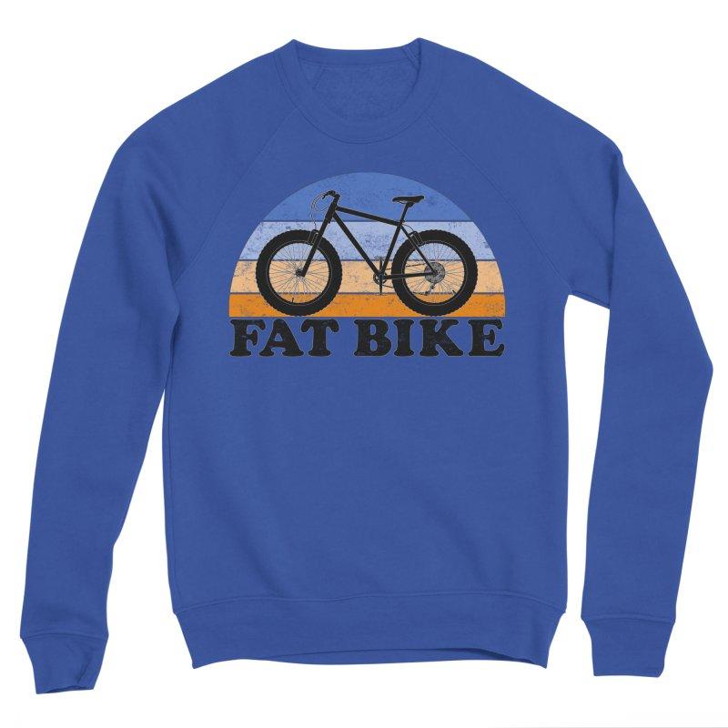 Fat Tire Bike Vintage Colors Men's Sweatshirt by The Wandering Fools Artist Shop