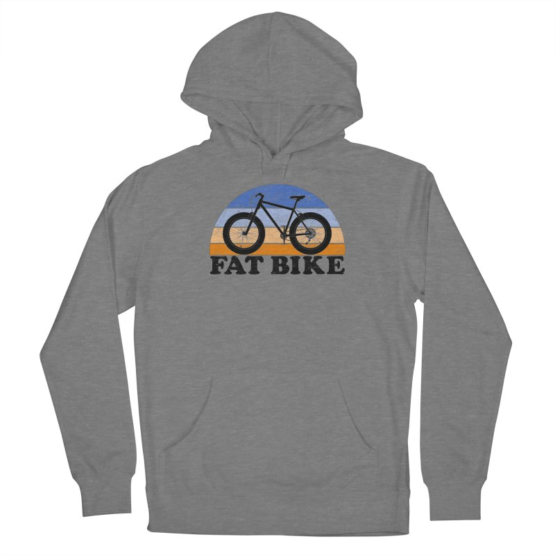 Fat Tire Bike Vintage Colors Women's Pullover Hoody by The Wandering Fools Artist Shop