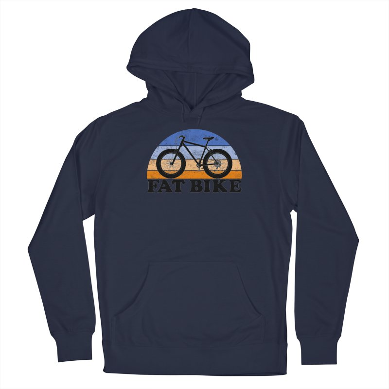 Fat Tire Bike Vintage Colors Men's Pullover Hoody by The Wandering Fools Artist Shop