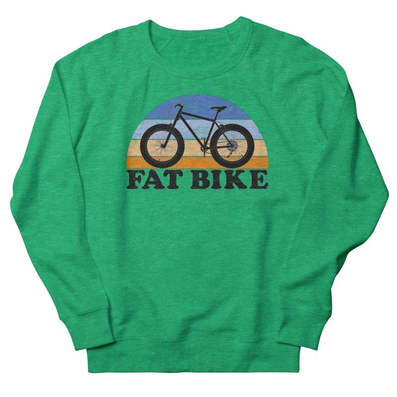 Fat Tire Bike Vintage Colors Women's Sweatshirt by The Wandering Fools Artist Shop