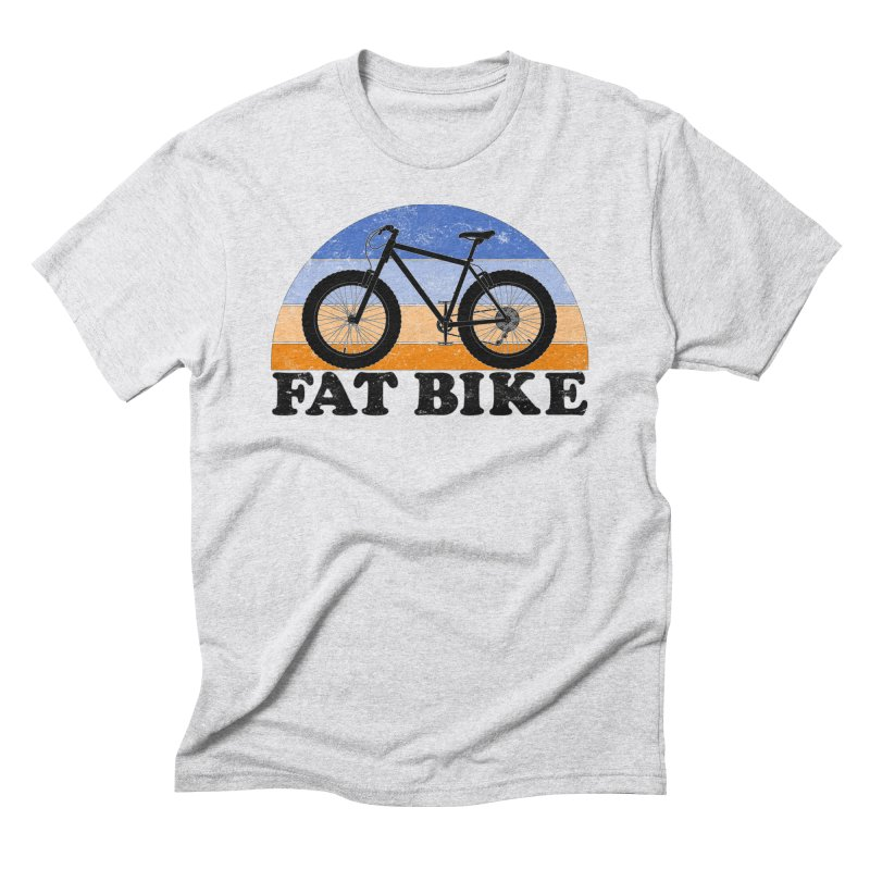 Fat Tire Bike Vintage Colors Men's T-Shirt by The Wandering Fools Artist Shop