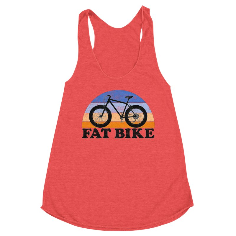 Fat Tire Bike Vintage Colors Women's Tank by The Wandering Fools Artist Shop