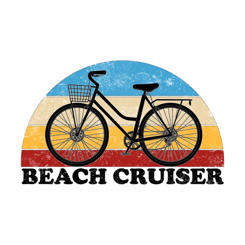 Beach Cruiser Bike Vintage Colors Men's Tank by The Wandering Fools Artist Shop