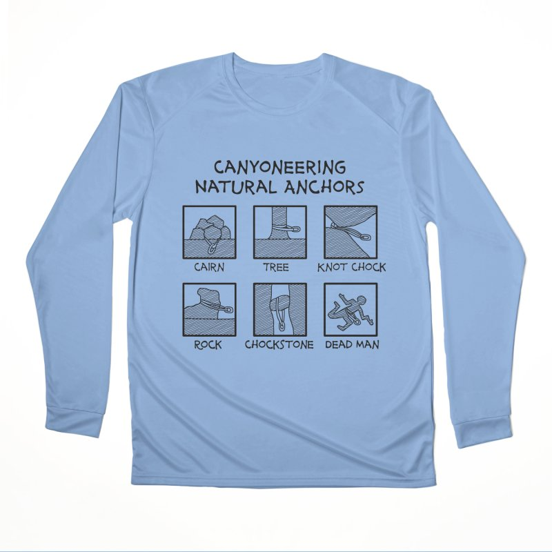 Canyoneering Natural Anchors New Women's Longsleeve T-Shirt by The Wandering Fools Artist Shop