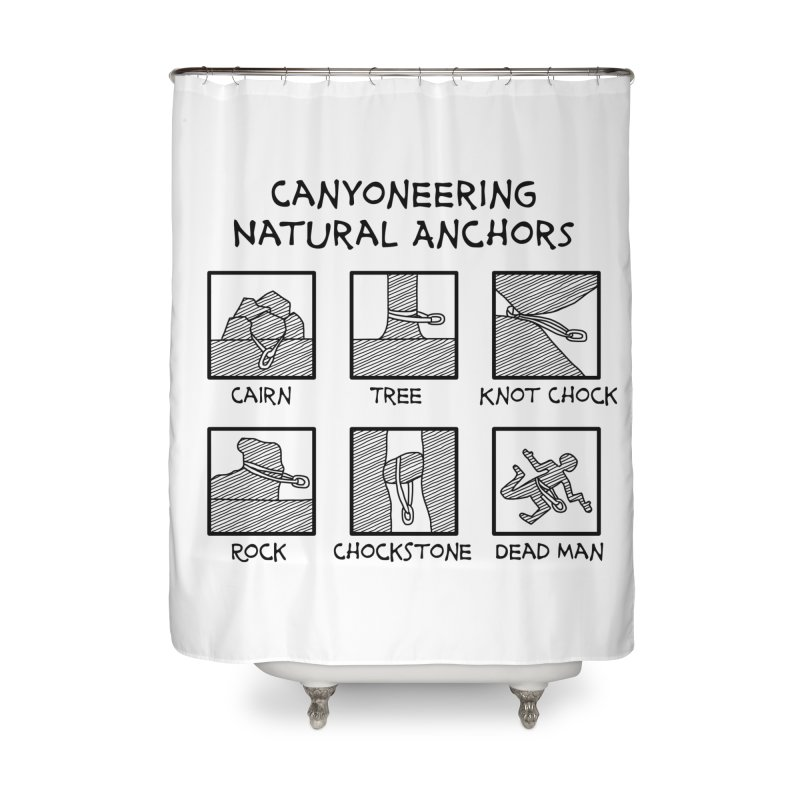 Canyoneering Natural Anchors New Home Shower Curtain by The Wandering Fools Artist Shop