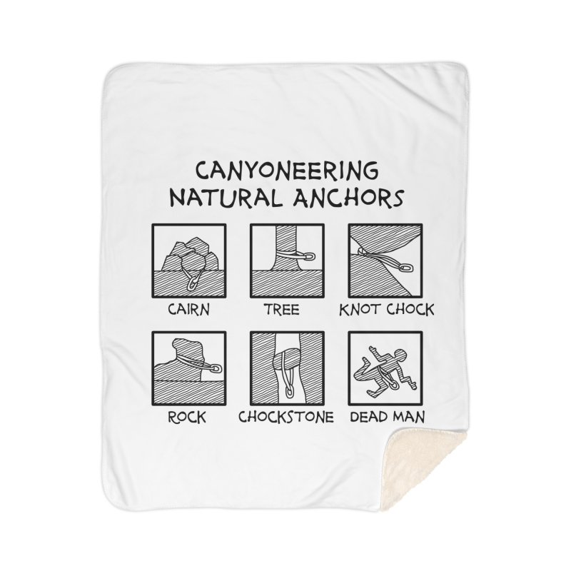 Canyoneering Natural Anchors New Home Blanket by The Wandering Fools Artist Shop