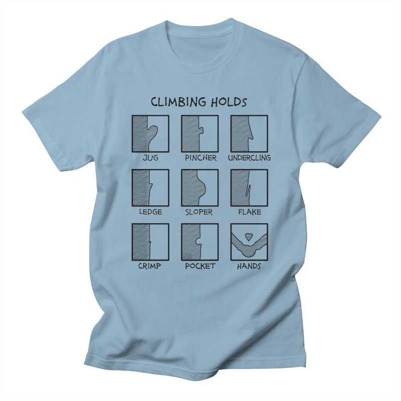 Climbing Holds New Men's T-Shirt by The Wandering Fools Artist Shop