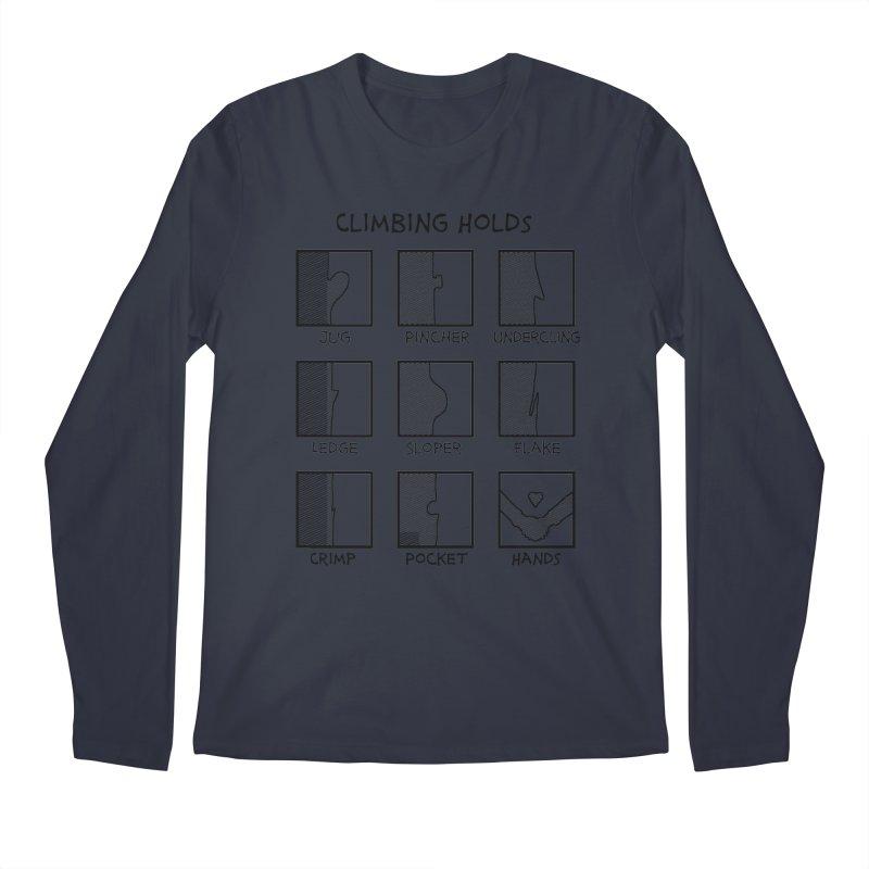 Climbing Holds New Men's Longsleeve T-Shirt by The Wandering Fools Artist Shop