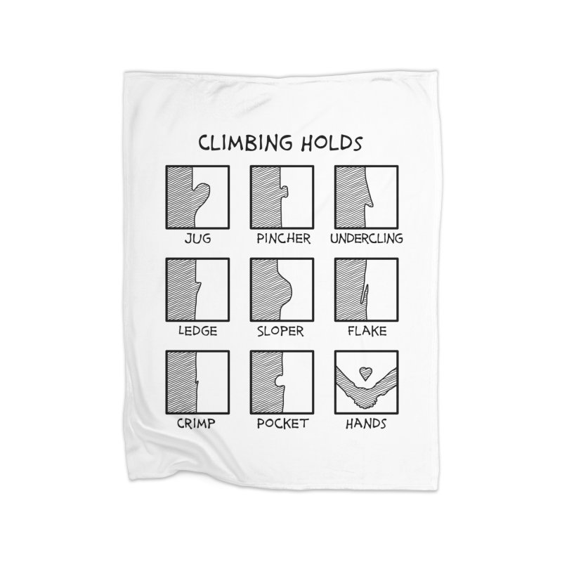 Climbing Holds New Home Blanket by The Wandering Fools Artist Shop