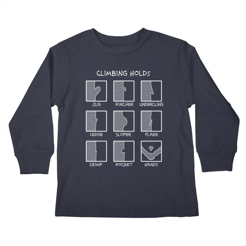 Climbing Holds New Kids Longsleeve T-Shirt by The Wandering Fools Artist Shop