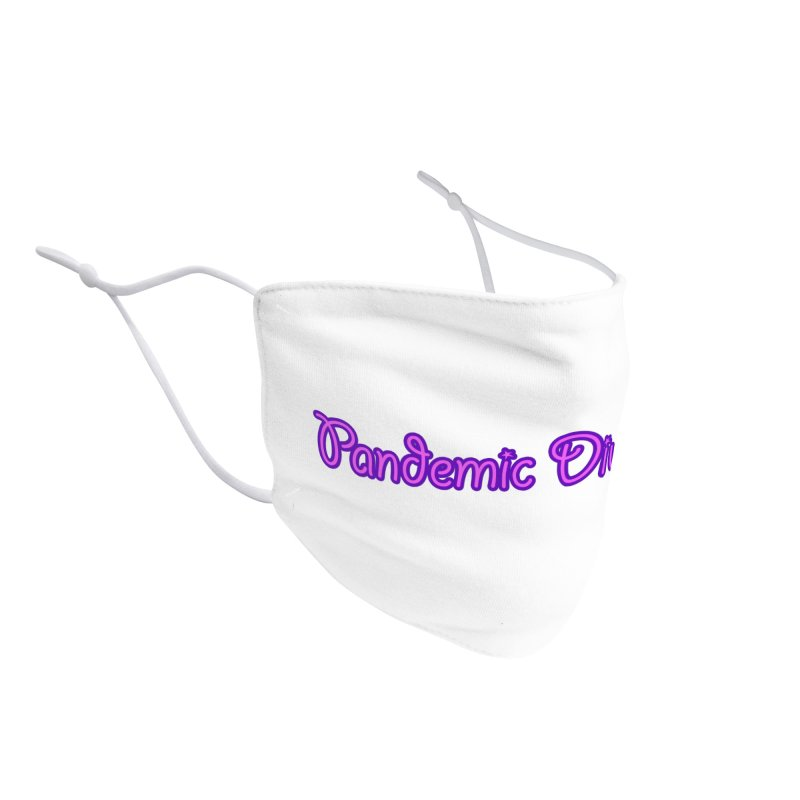 Pandemic Divorcee Accessories Face Mask by The Wandering Fools Artist Shop