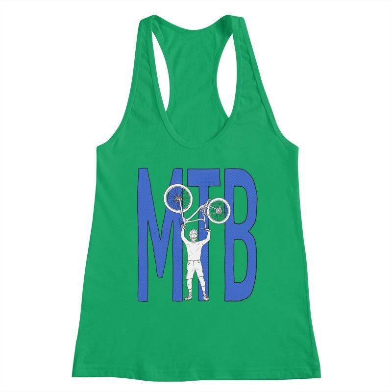 MTB - Mountain Bike Women's Tank by The Wandering Fools Artist Shop