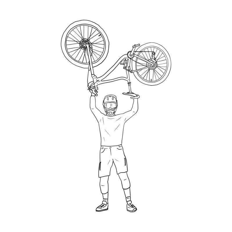 MTB - Mountain Bike Everyday Kids Baby Longsleeve Bodysuit by The Wandering Fools Artist Shop