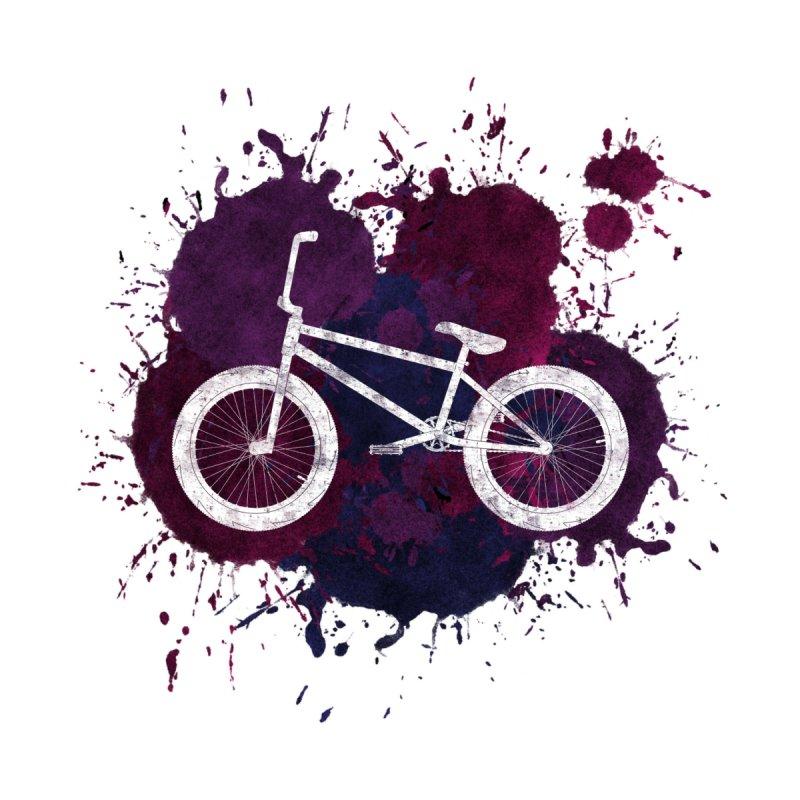 BMX Bike Paint Splatters Women's Tank by The Wandering Fools Artist Shop