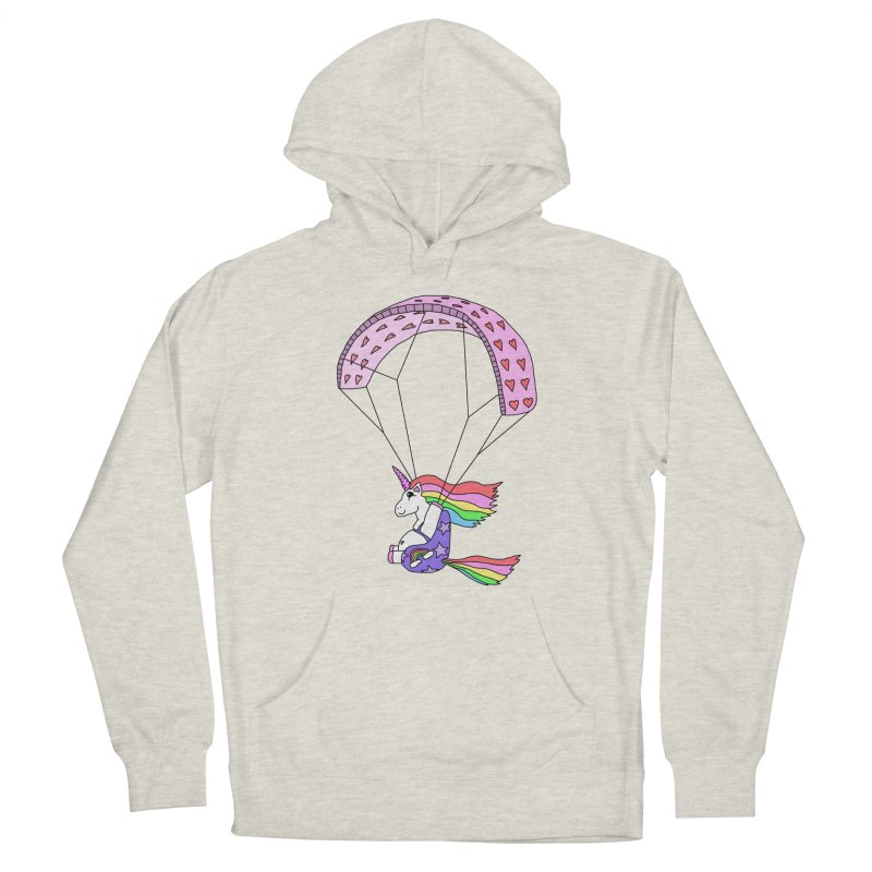The Wandering Fools - Paracorn, the Paragliding Unicorn Men's Pullover Hoody by The Wandering Fools Artist Shop