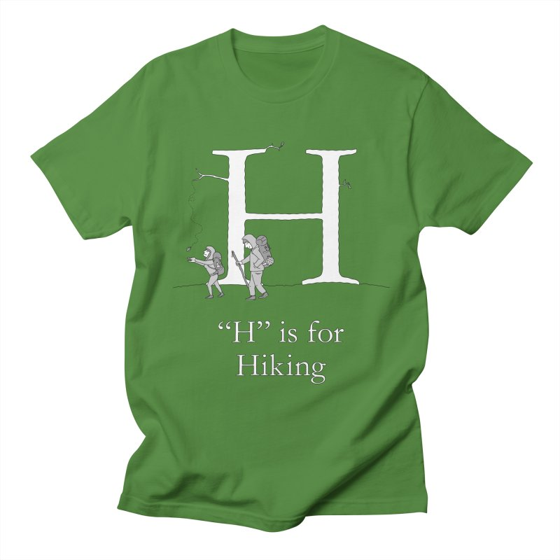 H is for Hiking Women's T-Shirt by The Wandering Fools Artist Shop