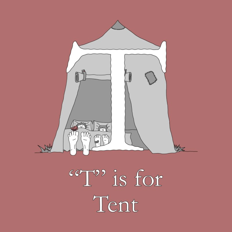 T is for Tent Accessories Phone Case by The Wandering Fools