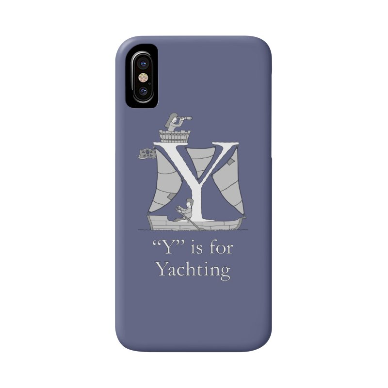 Y is for Yachting Accessories Phone Case by The Wandering Fools