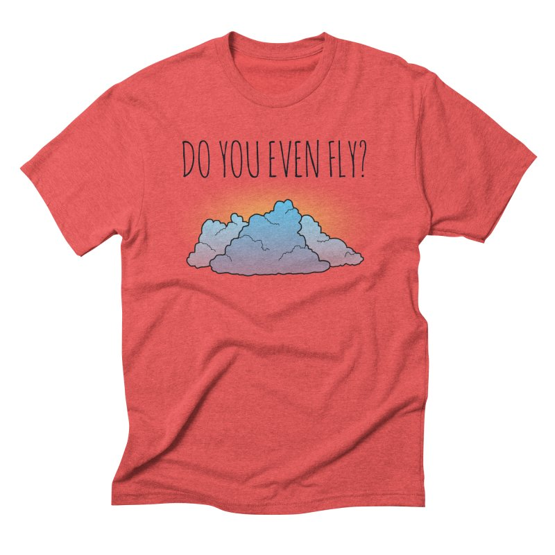 Do You Even Fly? Men's Triblend T-Shirt by The Wandering Fools