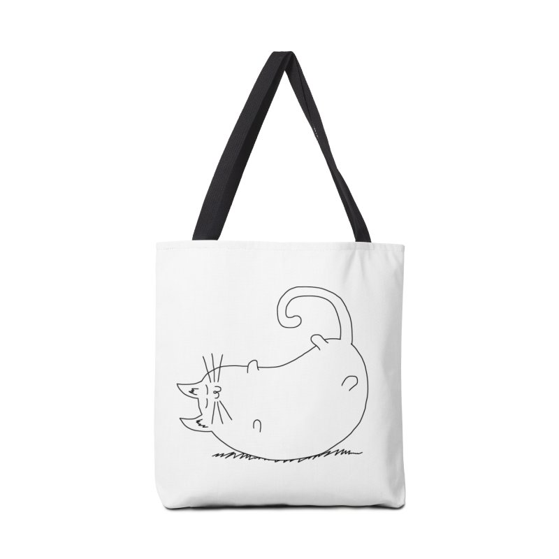 Sleeping Cat Accessories Bag by The Wandering Fools