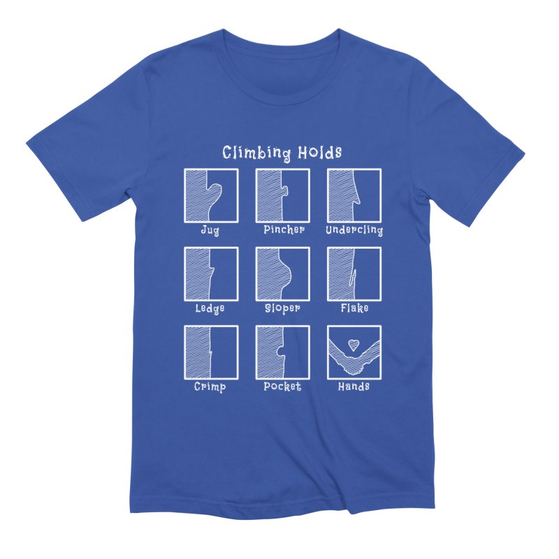 Climbing Holds Men's T-Shirt by The Wandering Fools Artist Shop