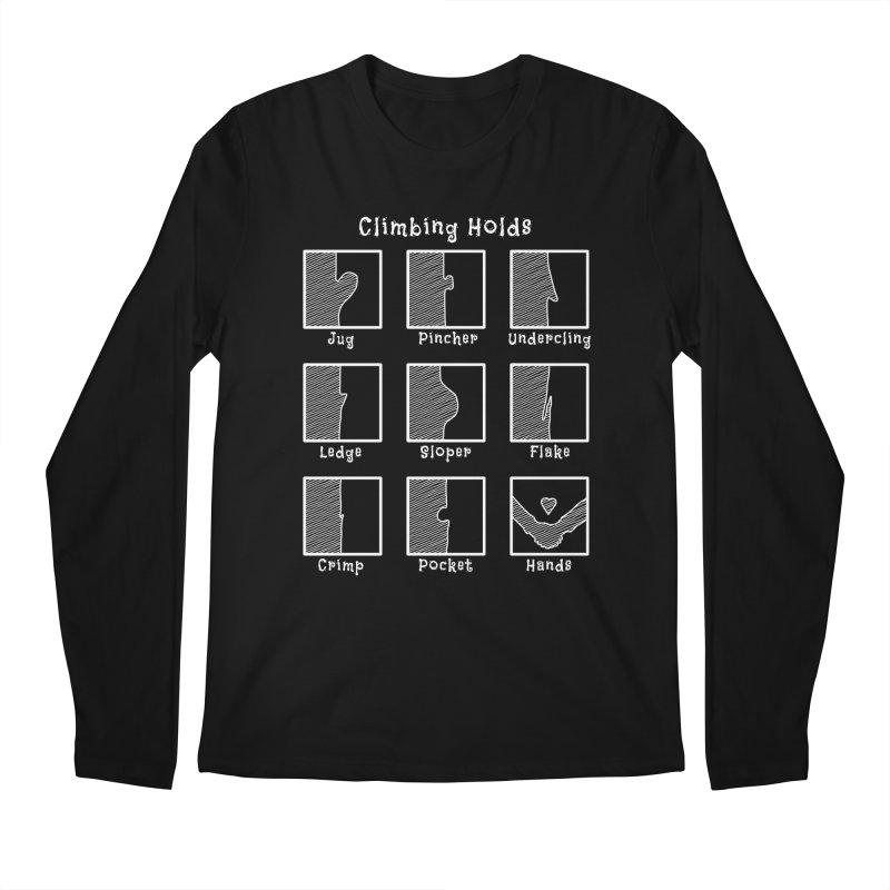 Climbing Holds Men's Regular Longsleeve T-Shirt by The Wandering Fools