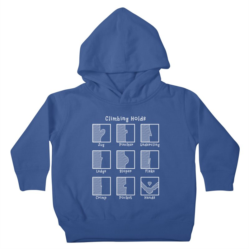 Climbing Holds Kids Toddler Pullover Hoody by The Wandering Fools