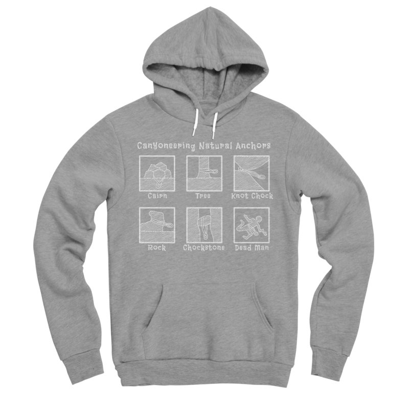 Canyoneering Natural Anchors Women's Sponge Fleece Pullover Hoody by The Wandering Fools