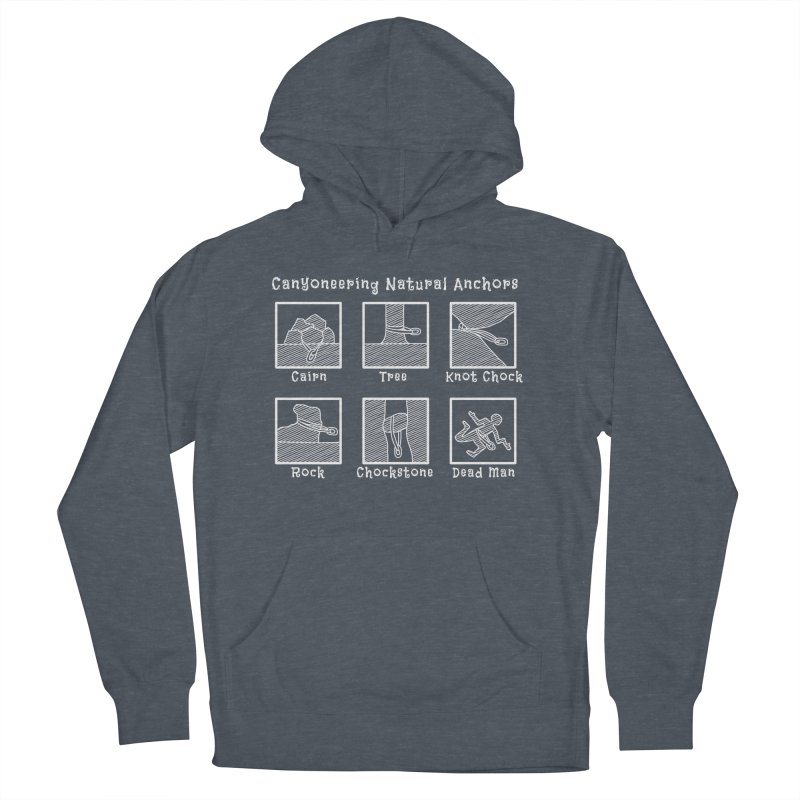 Canyoneering Natural Anchors Women's French Terry Pullover Hoody by The Wandering Fools