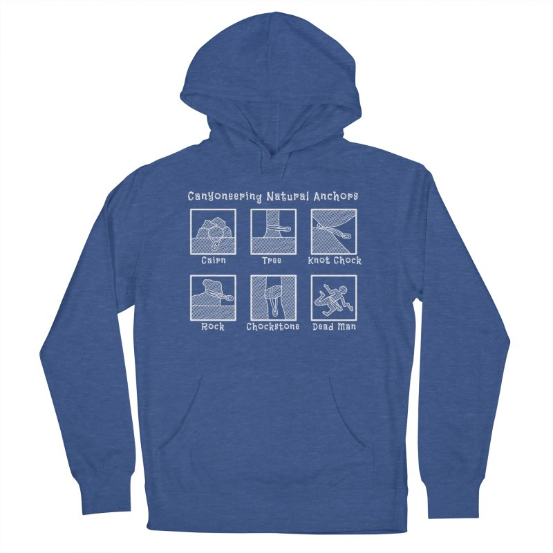 Canyoneering Natural Anchors Men's French Terry Pullover Hoody by The Wandering Fools