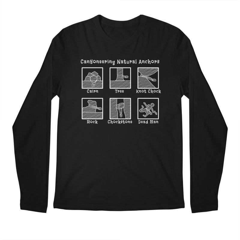 Canyoneering Natural Anchors Men's Regular Longsleeve T-Shirt by The Wandering Fools