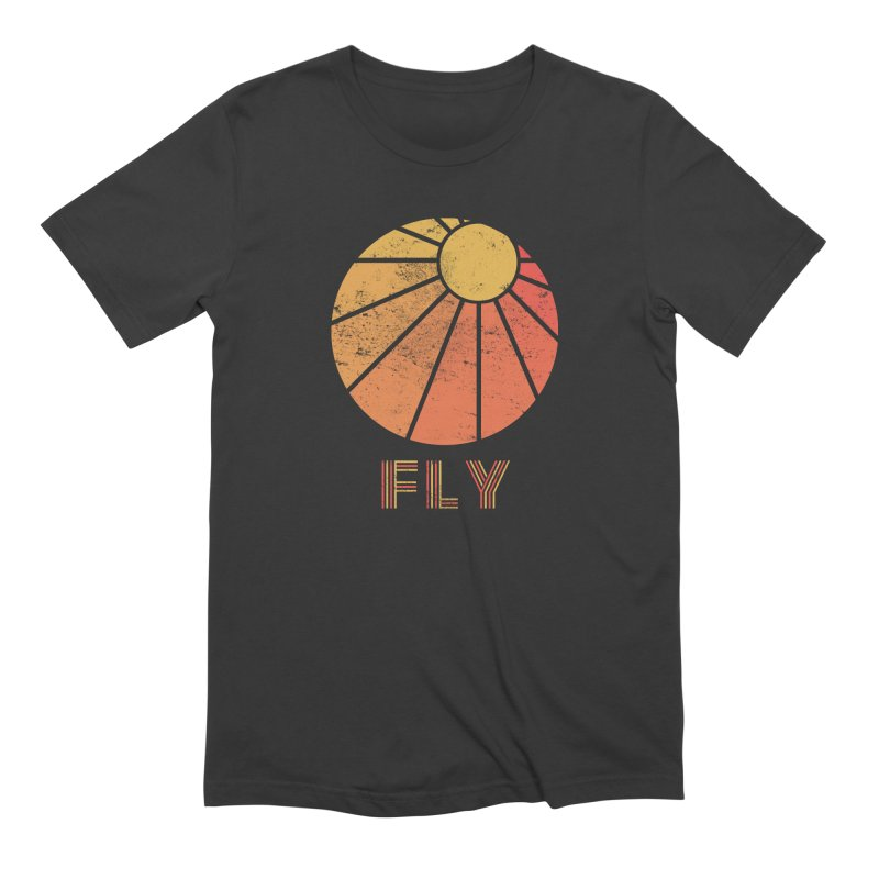 Retro Fly - Paragliding/Hang Gliding Men's Extra Soft T-Shirt by The Wandering Fools