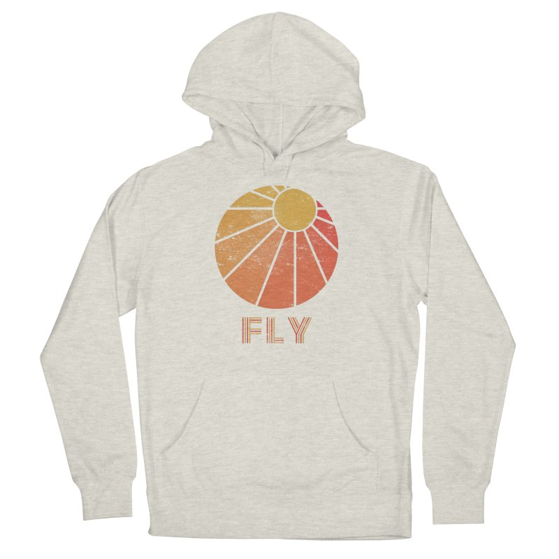 Retro Fly - Paragliding/Hang Gliding Men's French Terry Pullover Hoody by The Wandering Fools
