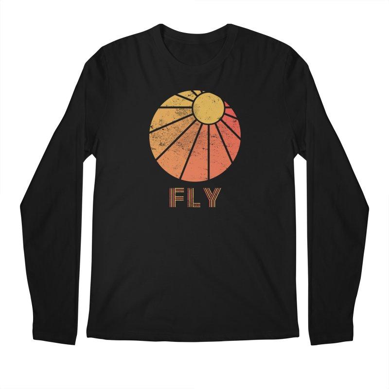 Retro Fly - Paragliding/Hang Gliding Men's Regular Longsleeve T-Shirt by The Wandering Fools