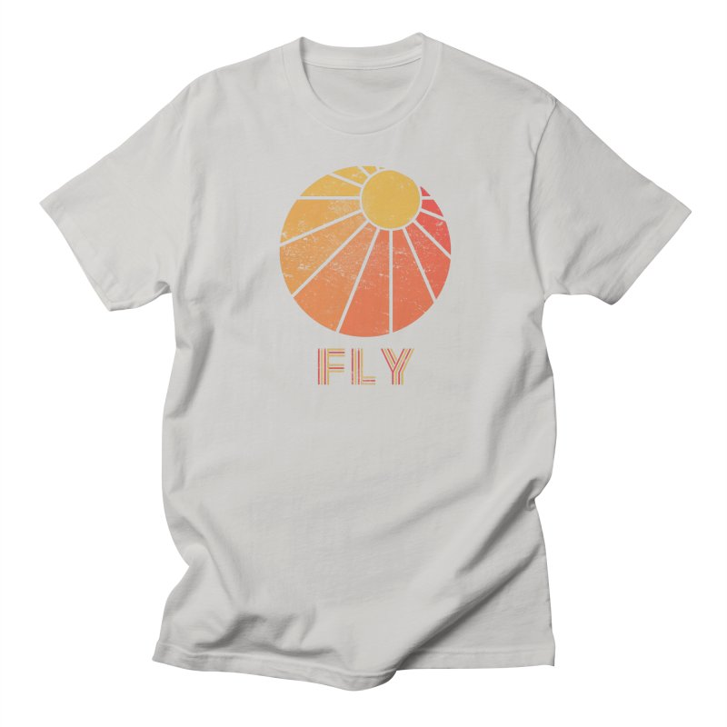 Retro Fly - Paragliding/Hang Gliding Men's Regular T-Shirt by The Wandering Fools