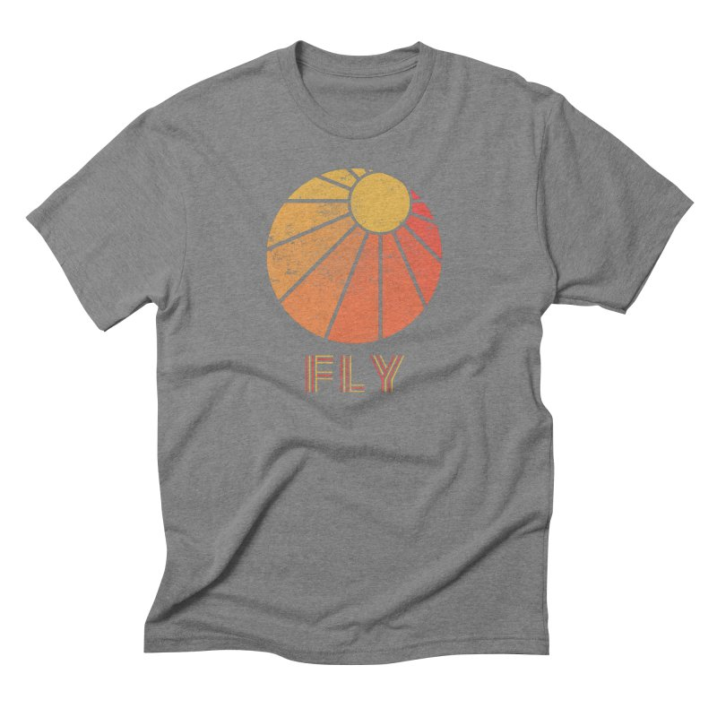 Retro Fly - Paragliding/Hang Gliding Men's Triblend T-Shirt by The Wandering Fools
