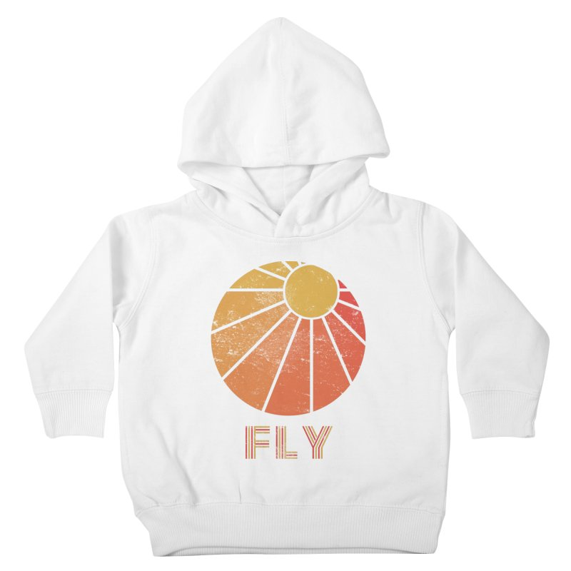 Retro Fly - Paragliding/Hang Gliding Kids Toddler Pullover Hoody by The Wandering Fools