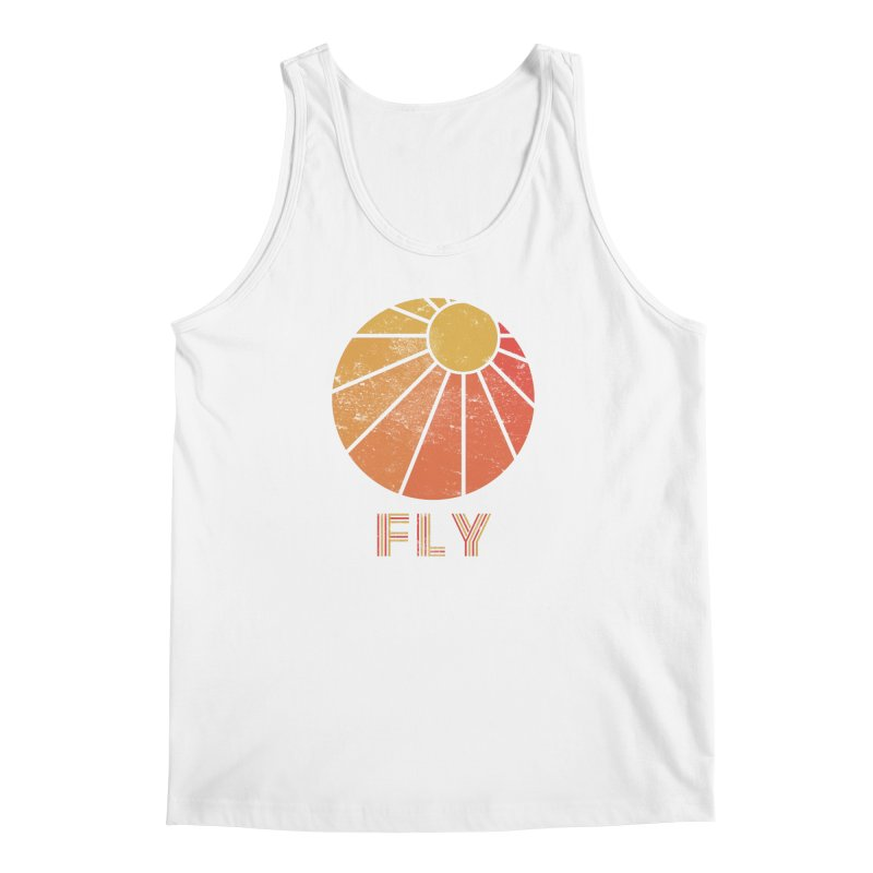 Retro Fly - Paragliding/Hang Gliding Men's Regular Tank by The Wandering Fools