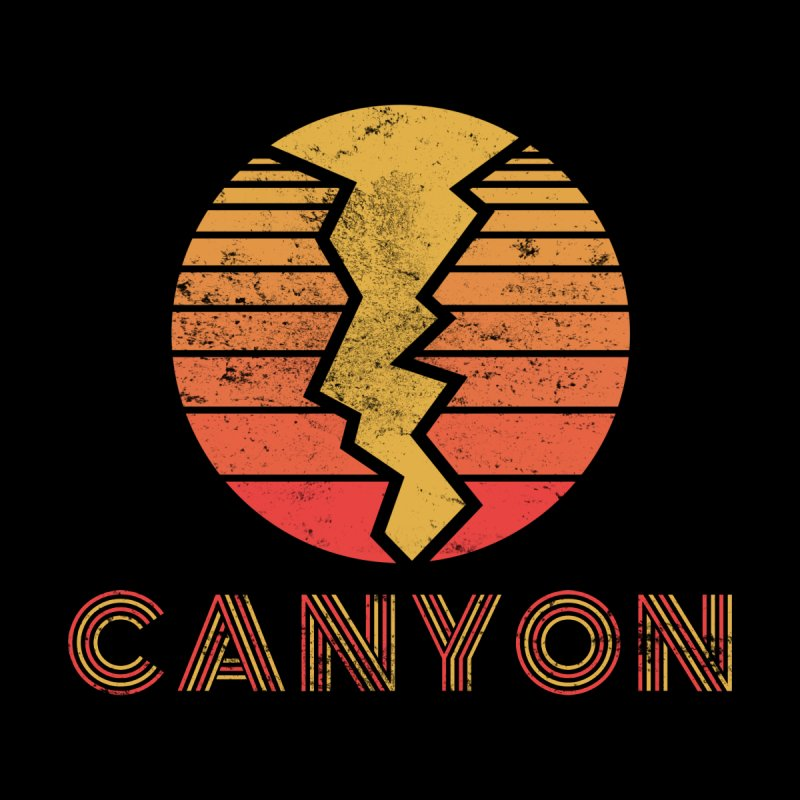 Retro Canyon - Canyoneering Women's Scoop Neck by The Wandering Fools